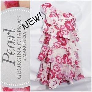 #614 🆕NWT! PEARL by GEORGINA CHAPMAN floral dress